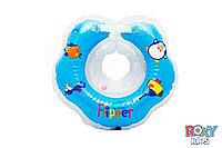 Надувной круг на шею для плавания малышей Flipper 15*15*5