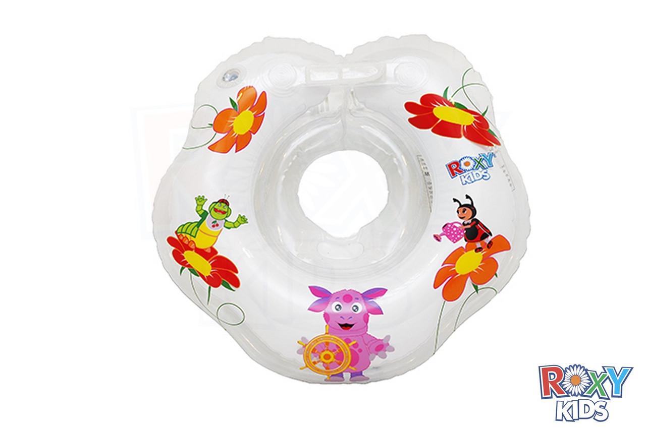 Круг на шею для купания малышей от 1,5 лет. Лунтик 2+  (15*15*5)
