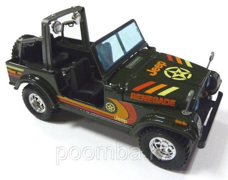 Автомодель Jeep Wrangler 1:24 Bburago