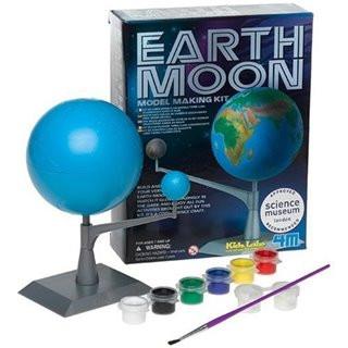 +4M луна и земля