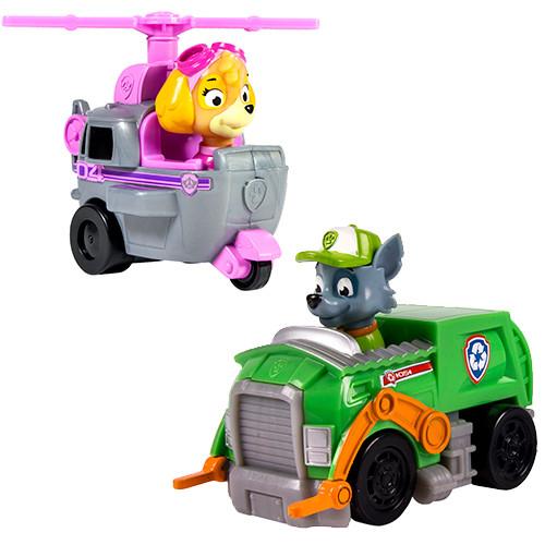 Paw Patrol Маленькая Машинка спасателя (Скай, Рокки, Зума, Райдер)