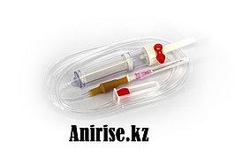 Система для переливания крови и кровезаменителей с иглой 18G