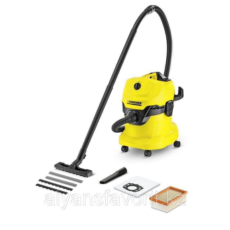 Karcher WD 4- пылесос для сухой и влажной уборки
