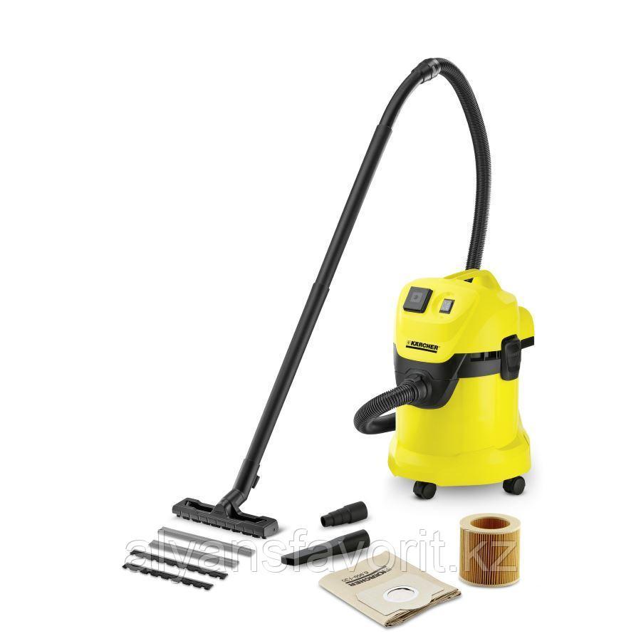 Karcher WD 3 P- пылесос для сухой и влажной уборки