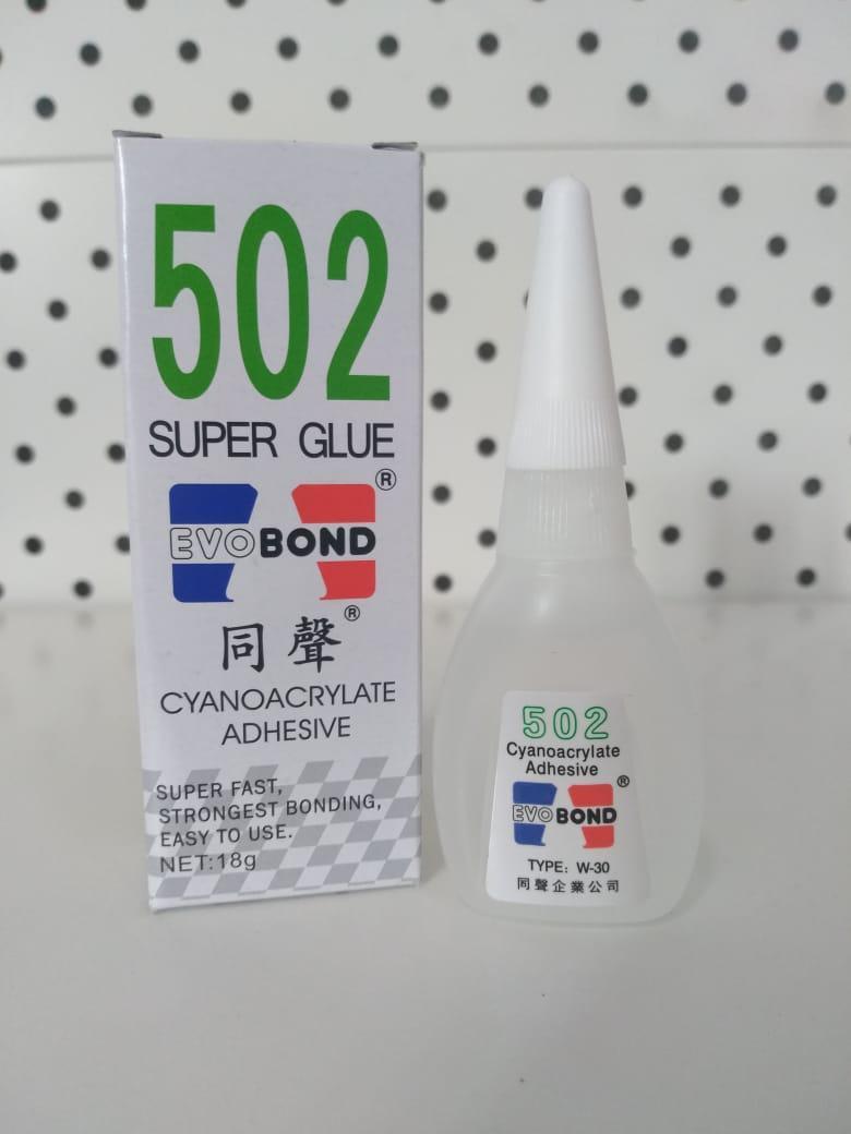 Супер клей EVOBOND 502 (18мл.)