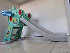 Детская игровая горка Свинка Пеппа с корзиной и рогом., фото 3