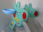 Детская игровая горка Свинка Пеппа с корзиной и рогом., фото 5