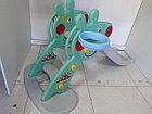 Детская игровая горка Свинка Пеппа с корзиной и рогом., фото 6