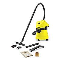 Karcher WD 3 Car- пылесос для сухой и влажной уборки с набором для уборки автомобиля