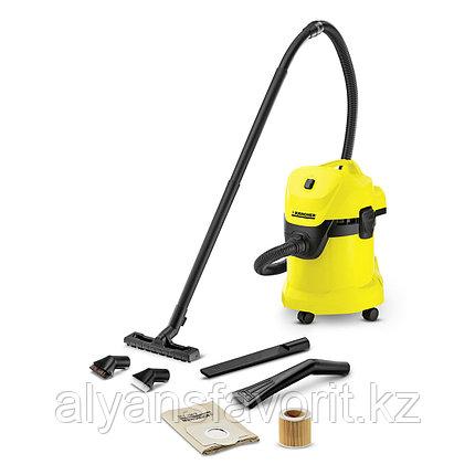 Karcher WD 3 Car- пылесос для сухой и влажной уборки с набором для уборки автомобиля, фото 2