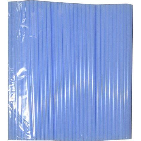 Трубочки д/коктейля прямые d=8мм L=240мм, голубые 250шт/упак, 250 шт, фото 2