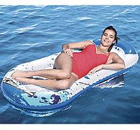 Надувной пляжный матрас - плотик 160х86 см, Bestway 43156