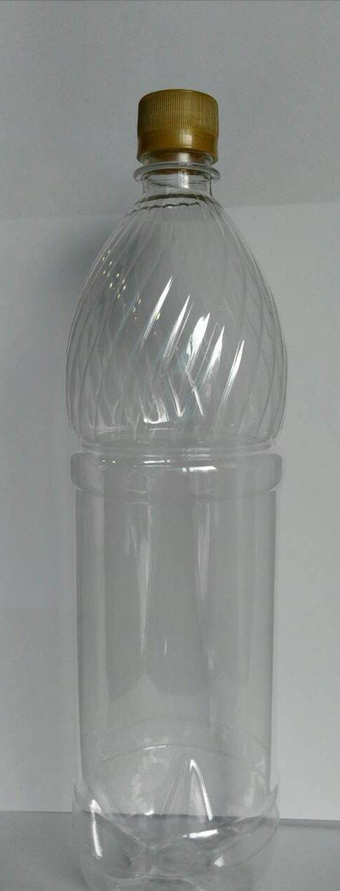 ПЭТ бутылка, прозрачн., 1.5 л, h 317 мм,  с крышкой, 50 шт