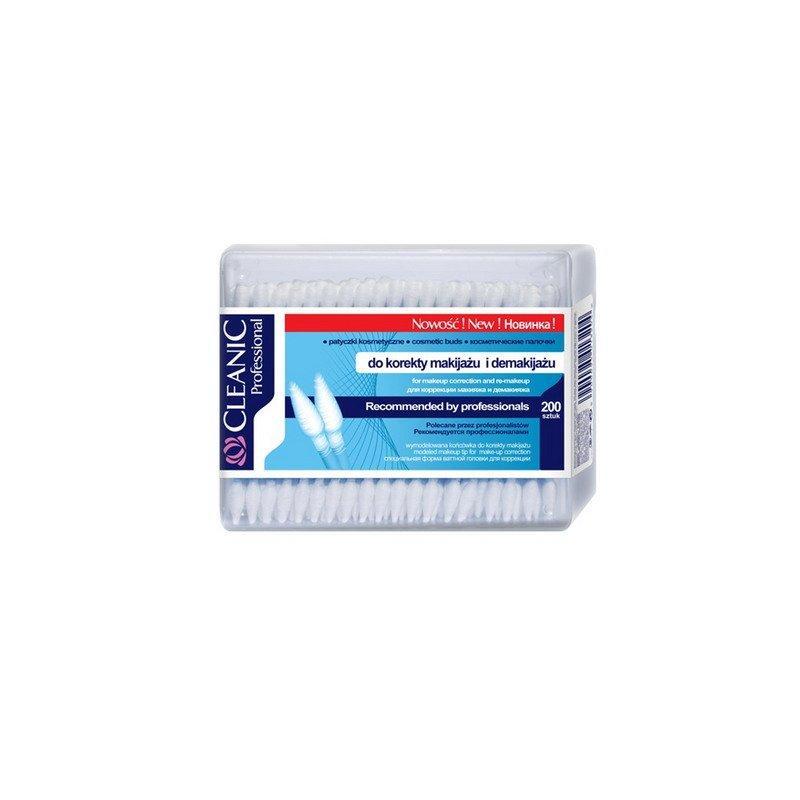 Ватные палочки Cleanic PROFESSIONAL (прямоугольная коробка), 200 шт