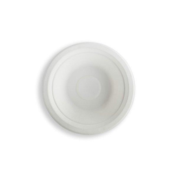Миска 0.5л, кругл., d 180мм, целлюлоза, 400 шт
