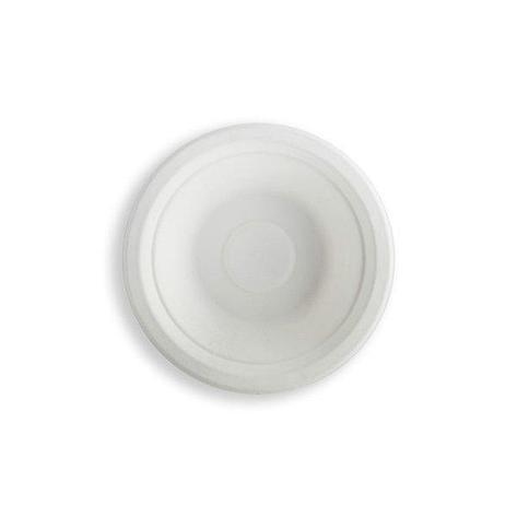Миска 0.5л, кругл., d 180мм, целлюлоза, 400 шт, фото 2