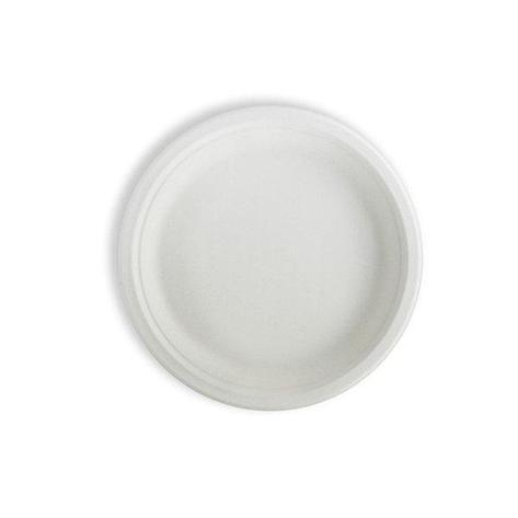 Тарелка кругл., d 228мм, целлюлоза, 350 шт, фото 2