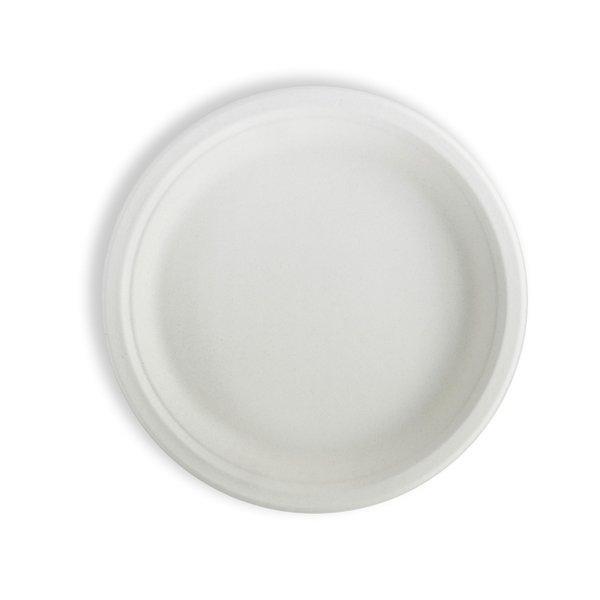 Тарелка кругл., d 262мм, целлюлоза, 350 шт