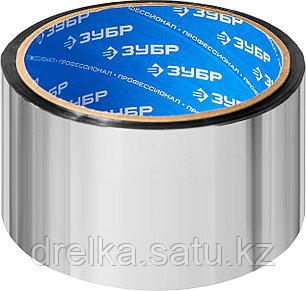Лента клеящая металлизированная, ЗУБР 12260-50-25, 48мм х 25м, фото 2