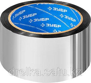 Лента клеящая металлизированная, ЗУБР 12260-50-50, 48мм х 50м, фото 2