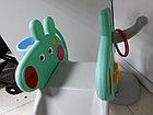 Детская игровая горка Свинка Пеппа с корзиной и рогом - удлиненная, фото 8