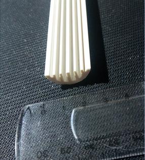 Напольный кабельный канал для сетей FTTH, для DROP кабеля (23 mm x8 mm), фото 2