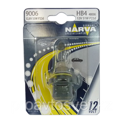 Narva 9006 (HB4) Standart 48006 B1