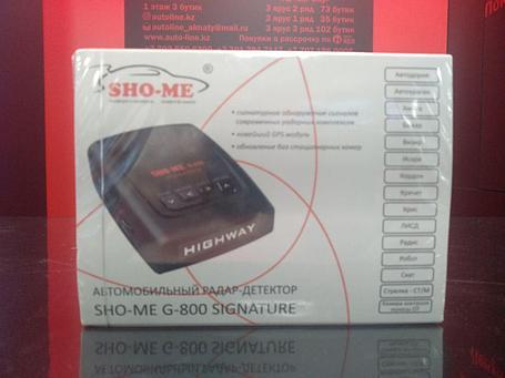 Автомобильный радар-детектор Sho-Me g-800 Signature, фото 2