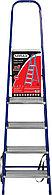 Лестница-стремянка стальная, 5 ступеней, 101 см, MIRAX, фото 1