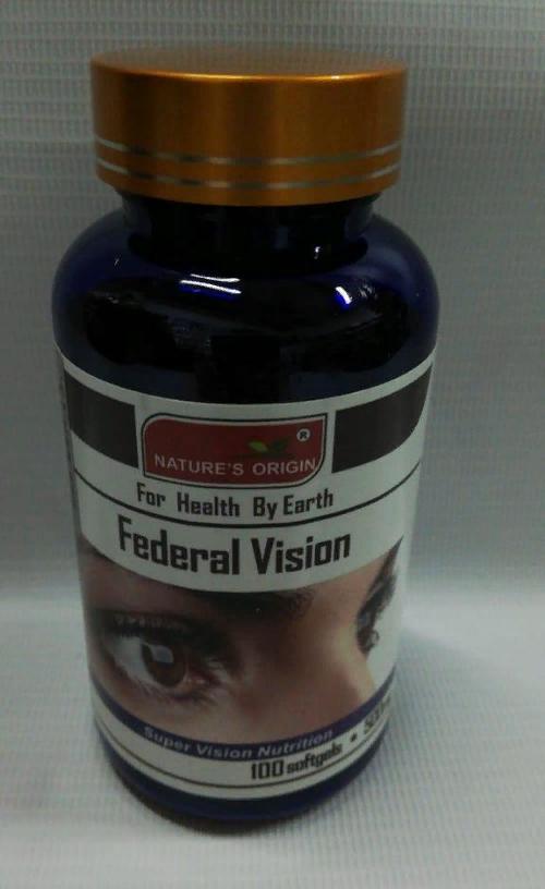 Капсулы Глазные - Federal Vision 100 кап.