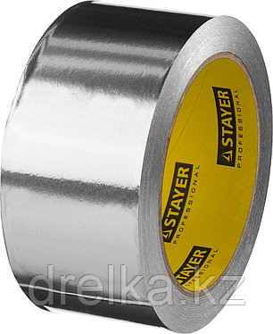 Алюминиевая лента, STAYER Professional 12268-50-25, до 120°С, 50мкм, 50мм х 25м, фото 2