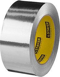 Алюминиевая лента, STAYER Professional 12268-50-50, до 120°С, 50мкм, 50мм х 50м