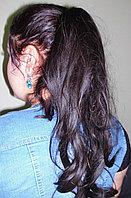 Хвост накладка из искусственных волос коричневые, фото 1
