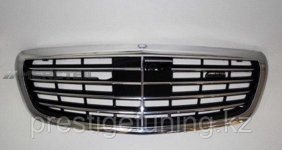 Оригинальная решетка на Mercedes S-class W222
