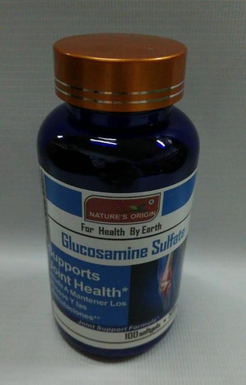 Капсулы Глюкозамин сульфат - Glucosamine Sulfate 100 кап.