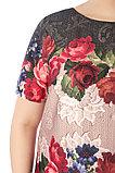 Женское платье полуприлегающего силуэта. Россия. Wisell. Размер: 56, фото 2