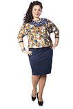 Очаровательное женское платье - костюм. Россия. Wisell. Размер: 56, фото 2