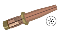 SMITH®† STYLE OXY-ACETYLENE CUTTING TIP