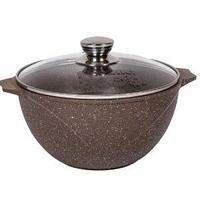 Казан для плова  Мечта Granit Brown 5 литров, фото 1