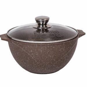 Казан для плова Мечта Granit Brown 8 литров