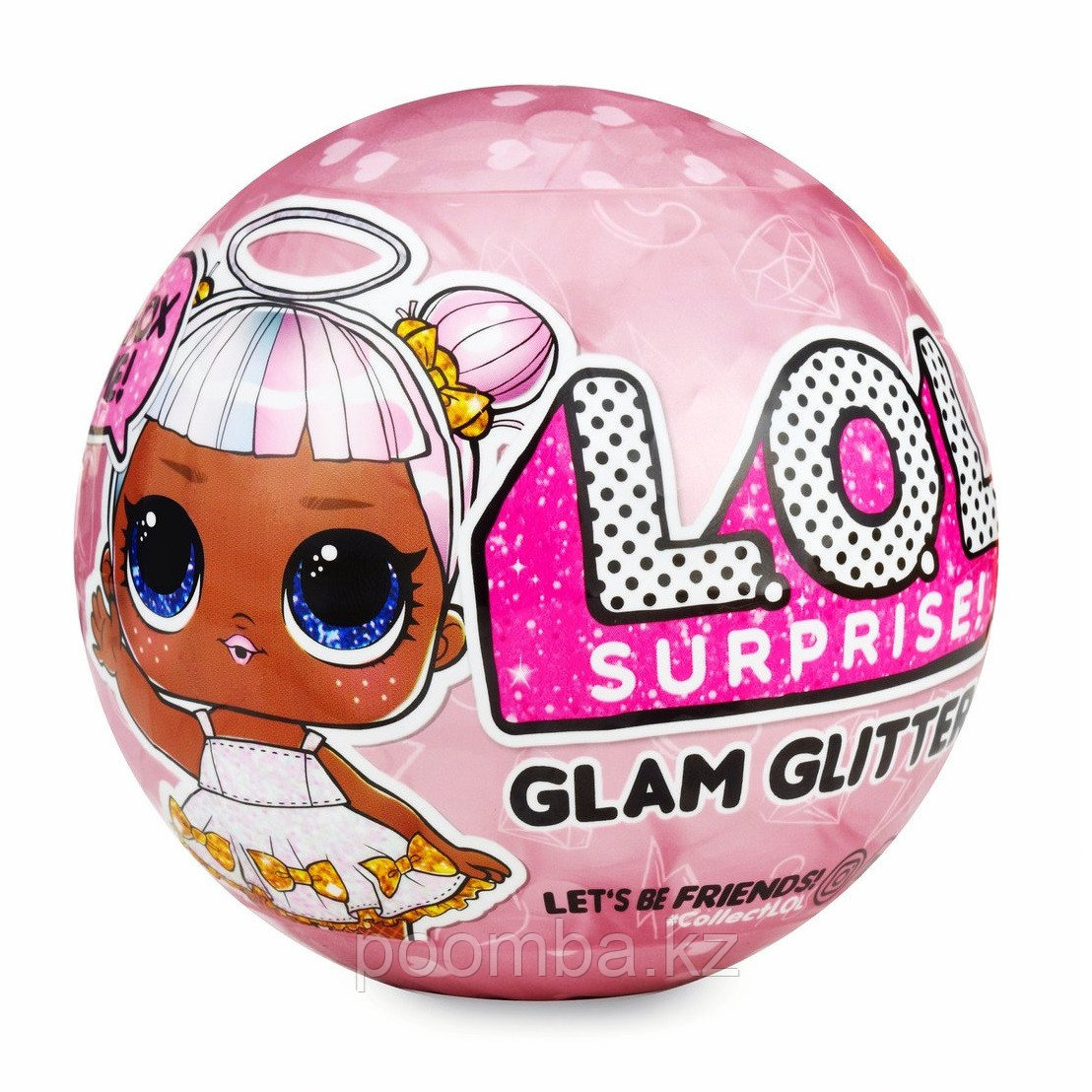 Кукла LOL (ЛОЛ сюрприз) Глэм Глиттер (LOL Surprise Glam Glitter series 4)