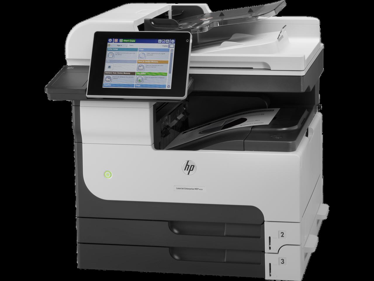 МФУ HP LaserJet Enterprise 700 CF066A M725dn ч/б., A3, Печать:1200x 1200dpi, 41ppm, Скан-е:600dpi /Копир-ие:60