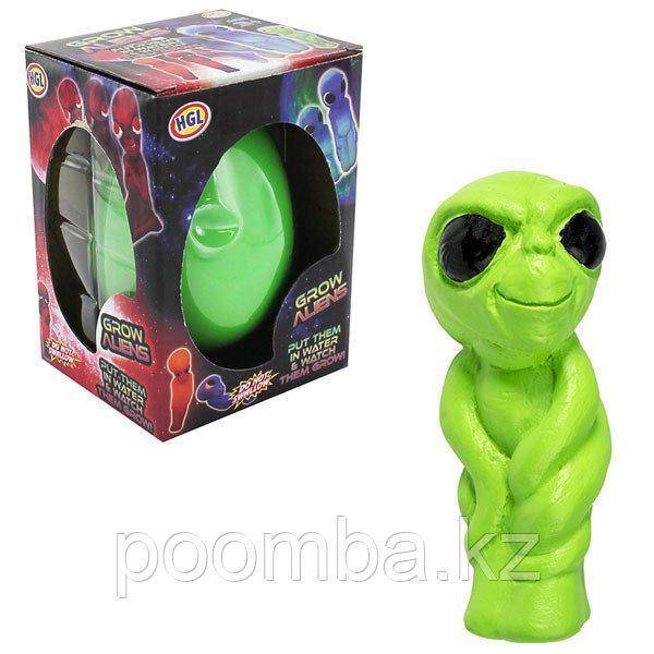 Игрушка яйцо растущее в воде с инопланетянином (в ассортименте)
