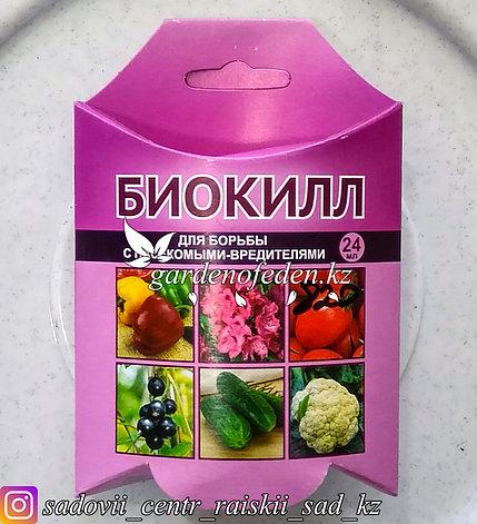 """Препарат для защиты растений Ваше хозяйство """"БиоКилл"""", от вредителей, 24 мл., фото 2"""