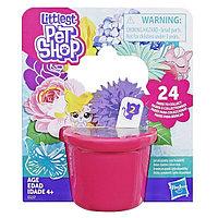 """Hasbro Littlest Pet Shop Игровой набор """"Пет в цветочном бутоне"""", Маленький Зоомагазин"""