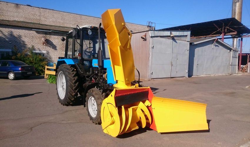 Снегоочиститель ДЭМ-124 для трактора МТЗ