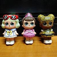 Сквиши, squishy, куклы LOL, размер 12х6 см , фото 1