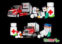 Перевозка медицинских препаратов и исследований