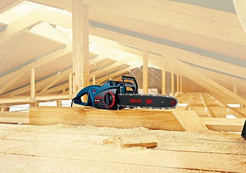 Пила цепная электрическая Bosch GKE 40 BCE 0601597703, фото 2