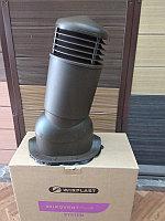 Вентиляционный выход К95 D 125/110 мм с проходным элементом для кровли из металлочерепицы , фото 1